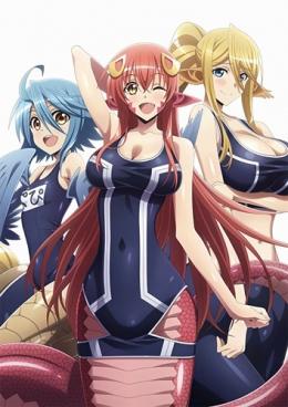 Аниме Повседневная жизнь с девушками-монстрами ОВА / Аниме Monster Musume no Iru Nichijou OVA